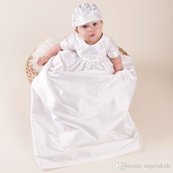 e8cda975a 2019 Baby Boys Christening Outfit White Baptism Christening Suit ...