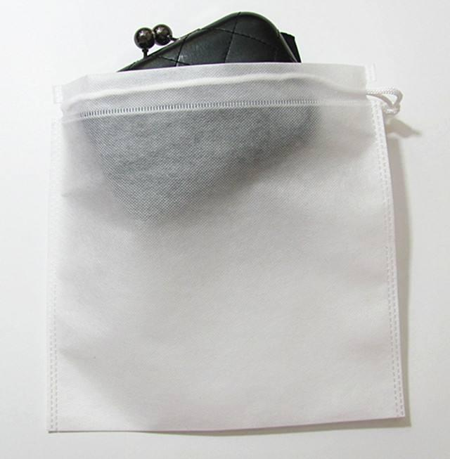 10x10cm Non woven clothes Storage Dust bag Packaging for handbag Travel Sundries storage Pull rope Free shipp