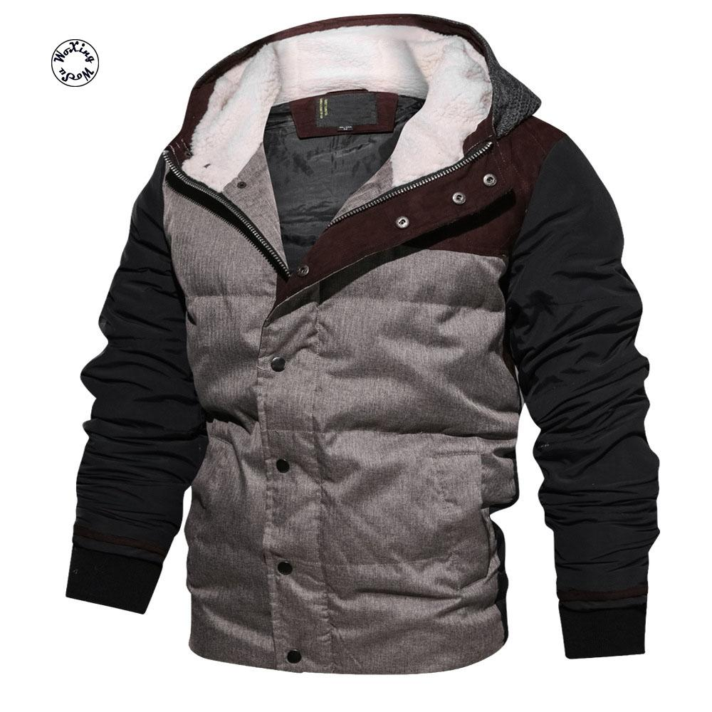 bfd0bf3484107 2019 Woxingwosu Men'S Hooded Parkas Cotton Padded Coat With Thick Cotton Padded  Jacket 3D Male Warm Jacket From Baimu, $130.85 | DHgate.Com