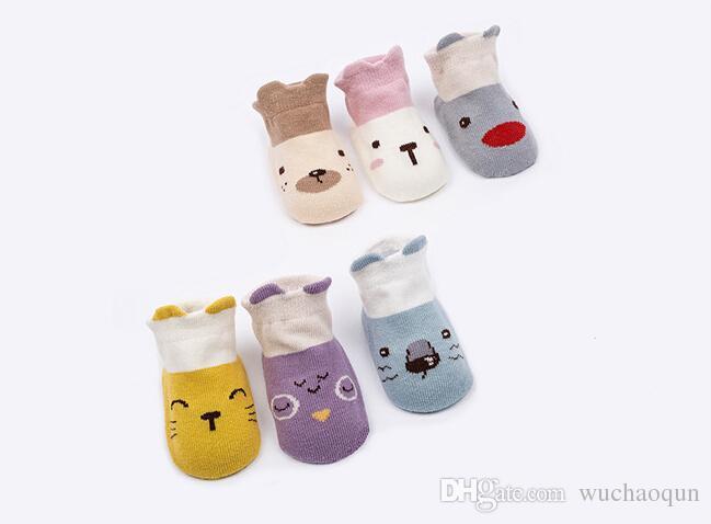 القطن الطفل الجوارب طفل الرضيع لطيف الكرتون جوارب قصيرة للأطفال الباندا فوكس الحيوان جوارب الأطفال الركبة طول الطابق الكاحل جوارب BY0073