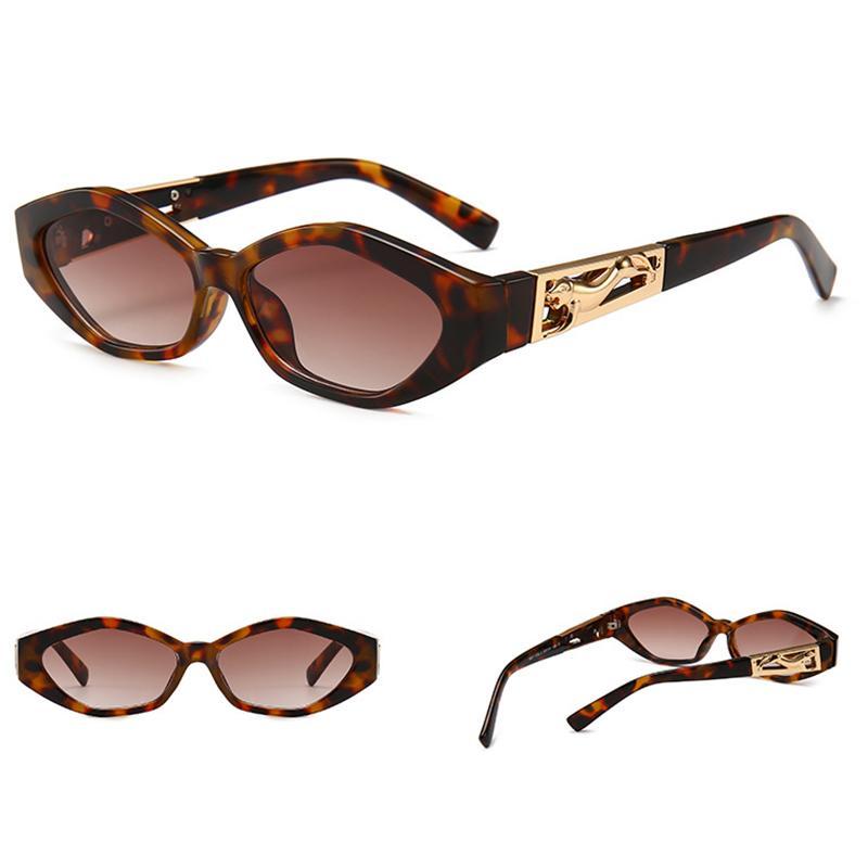 Compre Hoku Nuevo Ojo De Gato Gafas De Sol Modernas Mujeres Piernas  Guepardo Marca De Lujo Rombo Gafas De Sol Pequeño Marco Masculino Leopardo Gafas  Vintage ... 479916f8fc6e