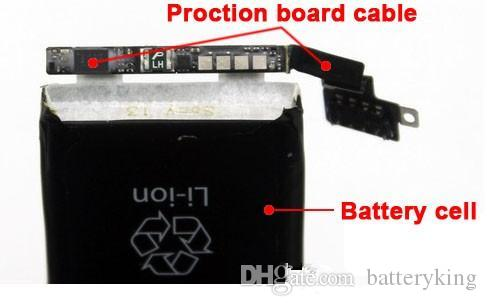 Wholesale Genuine Battery 3.82V 1715mah High Quality Replacement Repair Parts for iphone6S Lithium battery With Package Free Fedex UPS