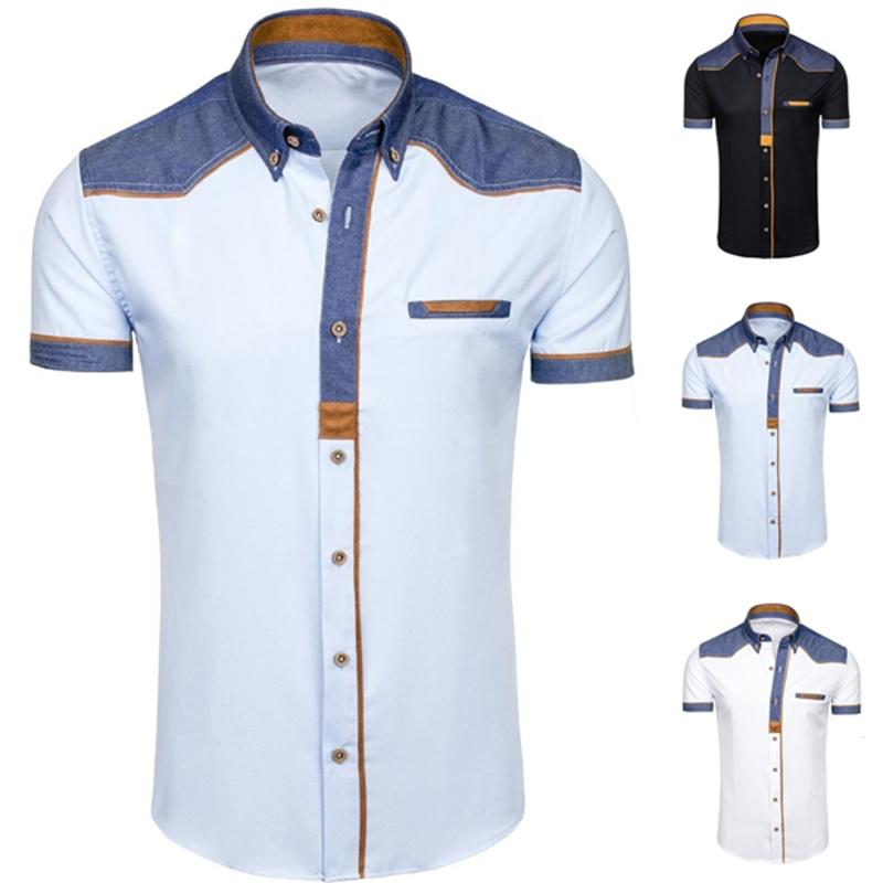 Shirts Back To Search Resultsmen's Clothing Fashion Style Zogaa New Fashion Men Cotton Linen Shirt Short Sleeve Thin Top Slim Casual Shirts High Quality White Black Blue Mens Shirts Special Summer Sale