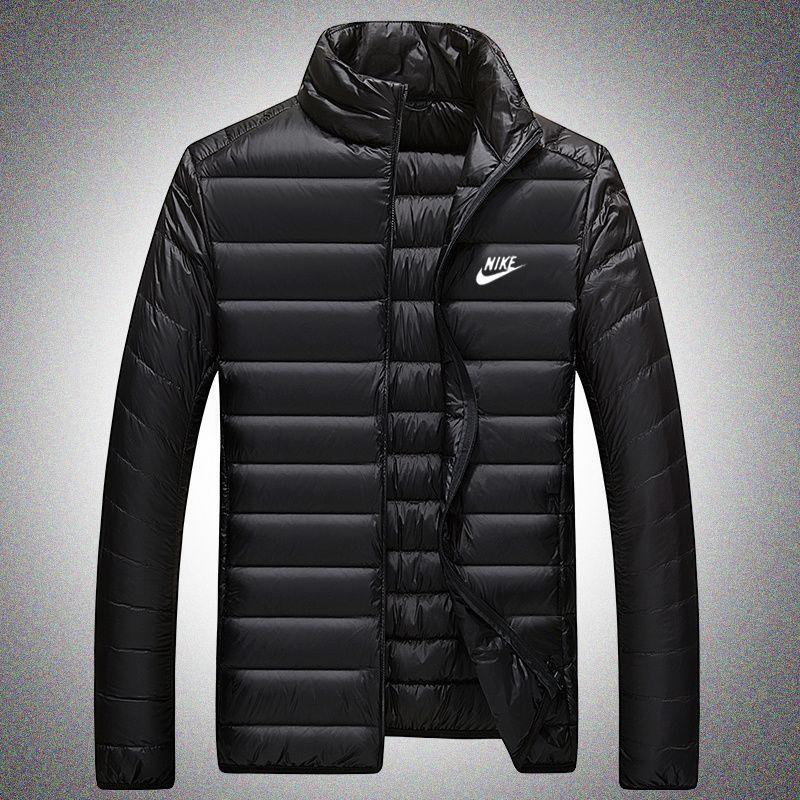 b594caa4468c Winter Light Thin Down Jackets Man Loose Coat Zipper Casual Keep Warm Down  Jackets Wine Red Gray Black Royal Blue Navy Blue Ww74072 Jacket Sale Biker  ...