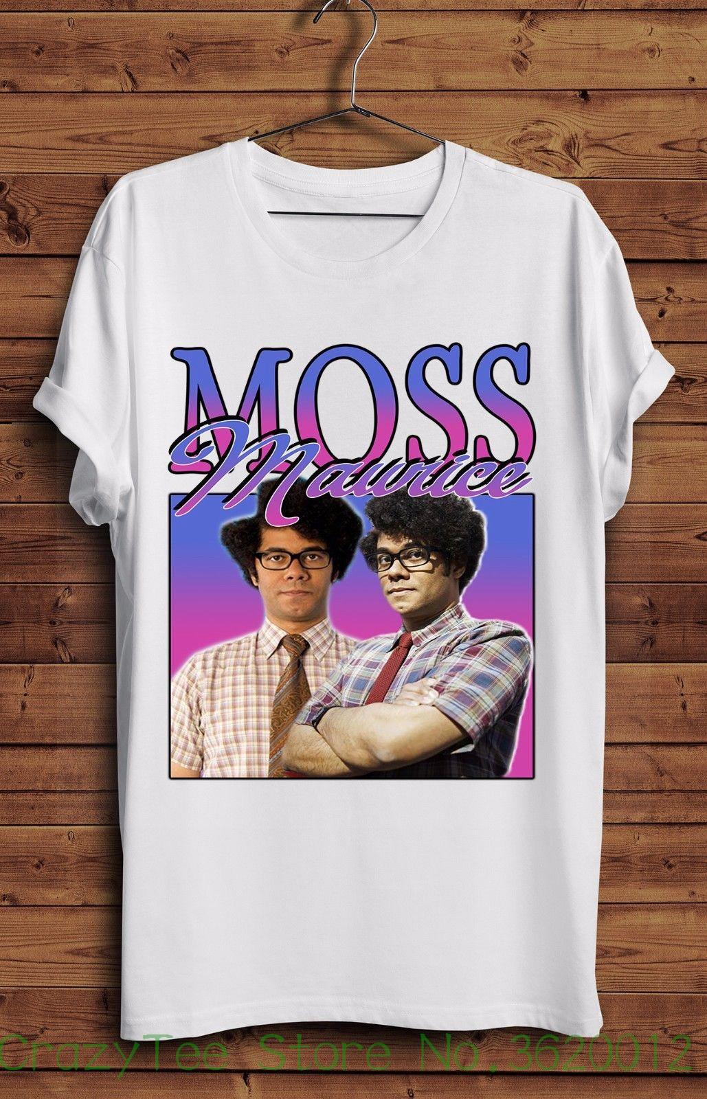 cd1863309ef Women S Tee Moss It Crowd T Shirt Vintage Geek Roy Jen Nerd Maurice New  Homage T Shirts Clothing Wholesale Ti Shirt Best T Shirt Sites From  Crazyteestore