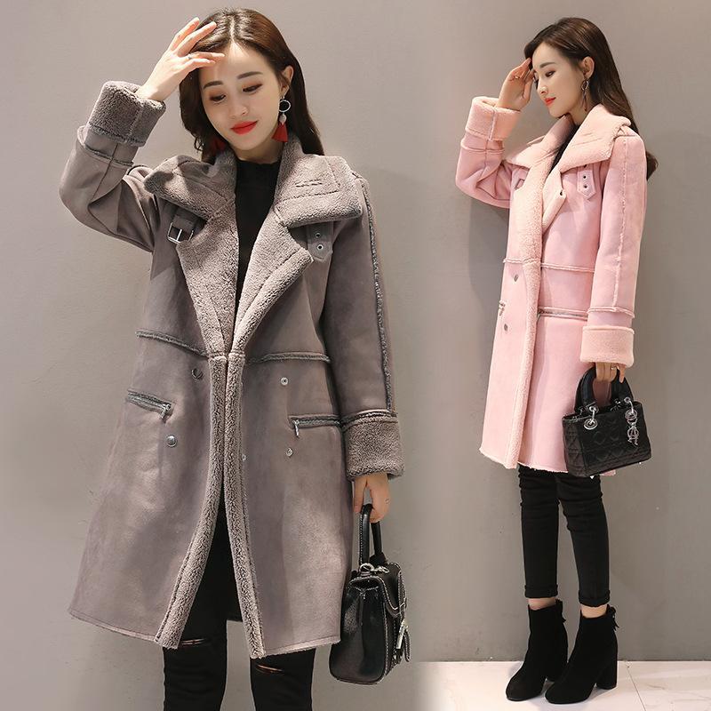 2018 New Fashion Women Winter Outerwear Female Parka Jacket Coat Korean Pink  Winter Jacket Women Long Coat Leather Bomber Outdoor Jacket From  Sandyluo0325 efa1e25fc1