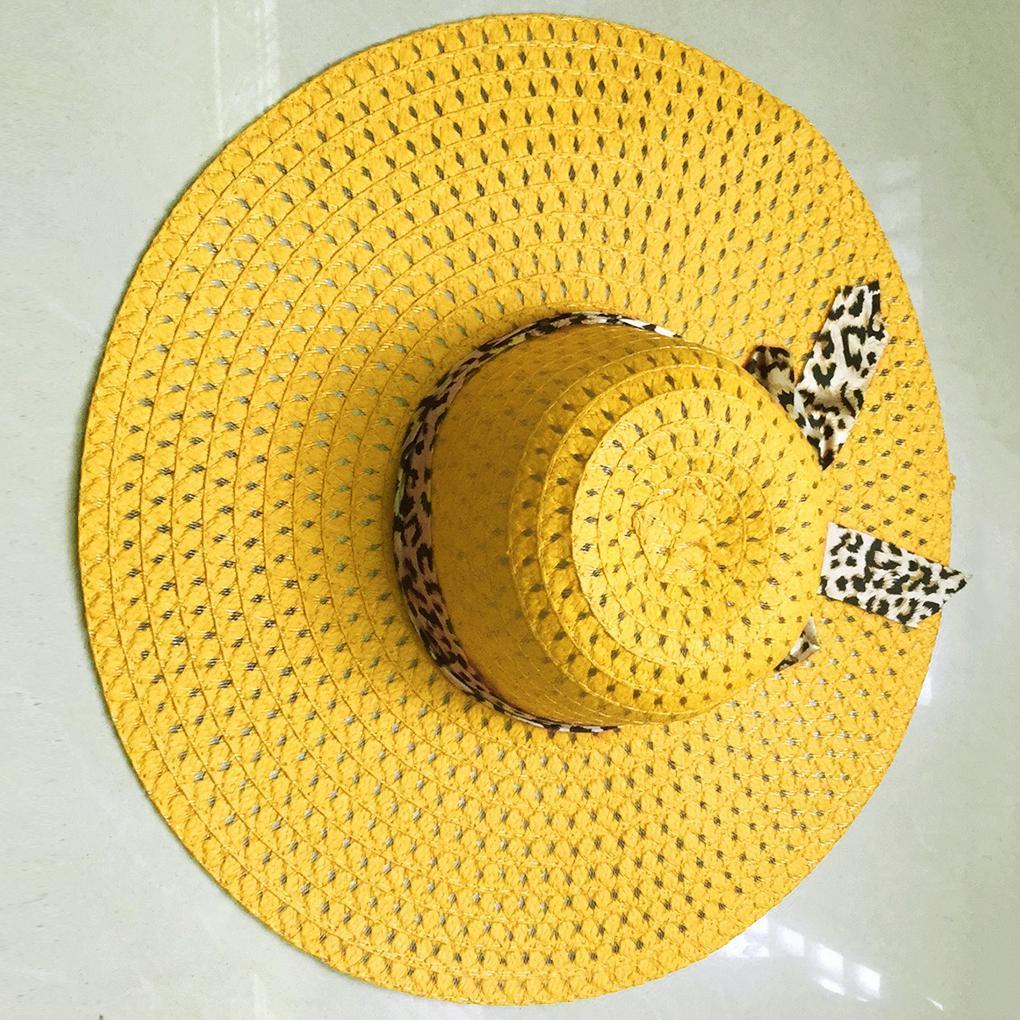 4ce004bc79f High Quality Women Summer Straw Wide Brim Hat Girl Travel Beach Fishing  Sunshade Panama Cap Lady Outdoor Dress Hat Sun Hats Cheap Sun Hats High  Quality ...