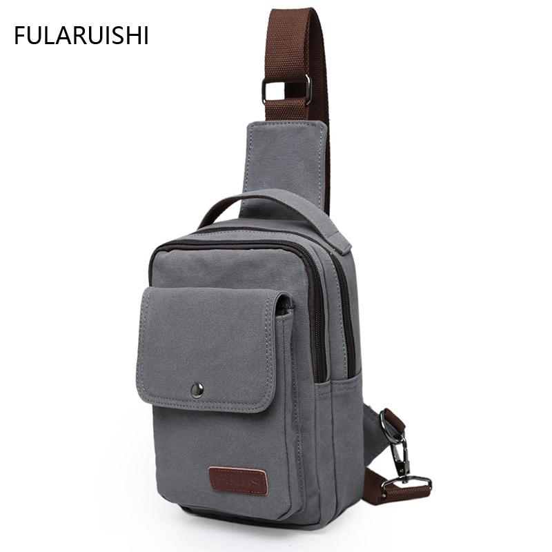 New Motorcycle Hip Bag Shoulder Messenger Crossbody Business Mens Cell  Phone Chest Pack Pouch Bags For Men Canvas Tote Sling Bag Mens Leather Bags  Italian ... 72c95248c5936
