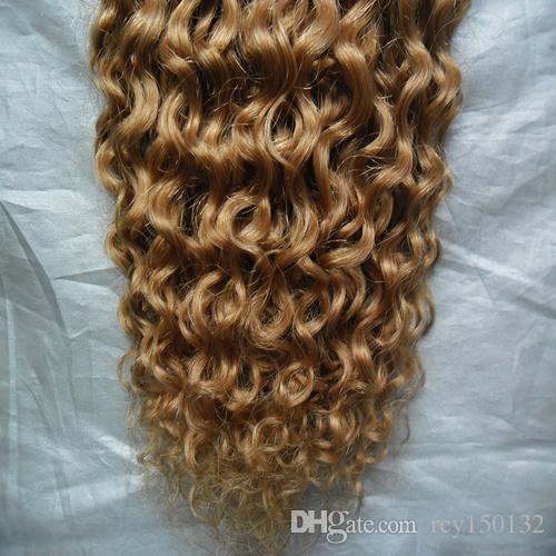 YUNTIAN HAIR Brasileiro Encaracolado Tecer Extensões de Cabelo Humano 10 - 26 polegadas Remy Trama Do Cabelo Frete Grátis Malaio indiano