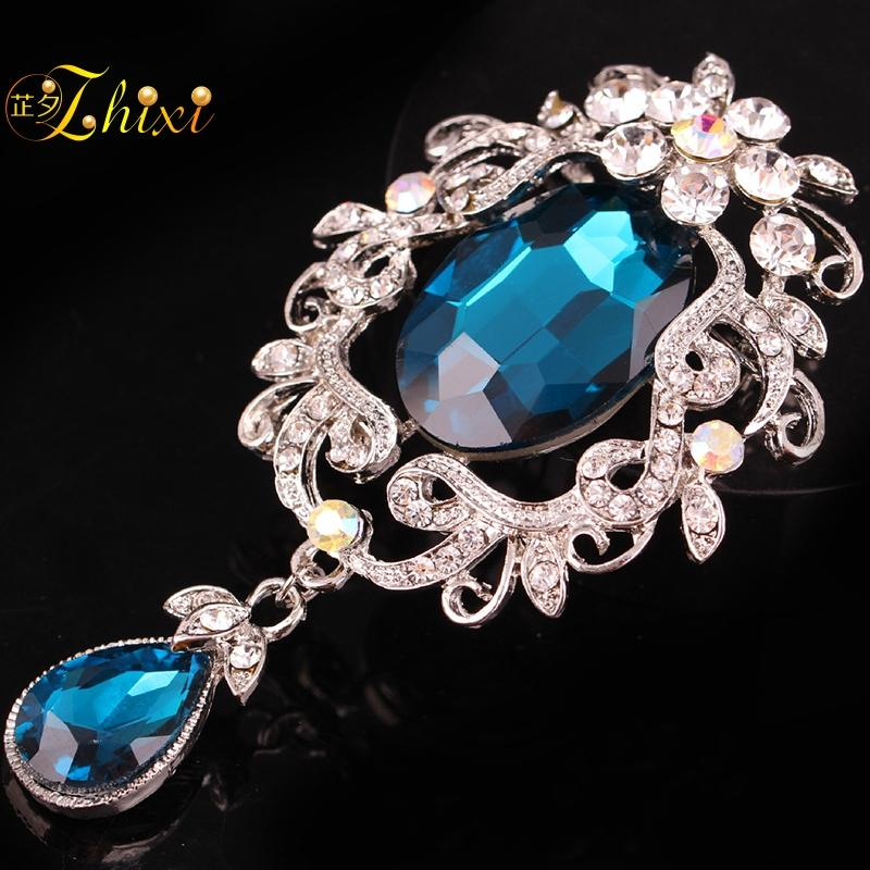 ad35ac5a410 2019 ZHIXI Simple And Stylish Brooches For Women Simple And Stylish White  Shiny Zircon Jewelry Brooch Fashion Gift Ginkgo Leaves B78 From  Handanxuebu, ...