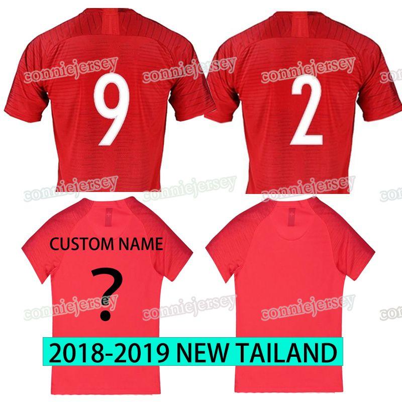 2019 Soccer Jersey Home Men Football Shirt 2019 New English Three Lions  Jerseys Red Shirts Sport Jerseys Fans Thail Jersey Drop Shipping From  Conniejersey 9d3b534ce