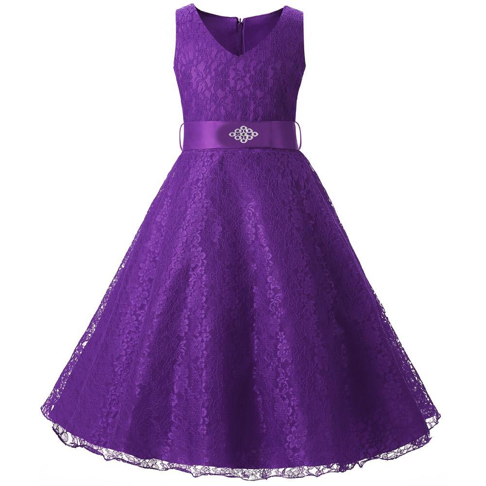 Großhandel Baby Mädchen Kleid Kinder Zeremonie Kleidung Mädchen ...