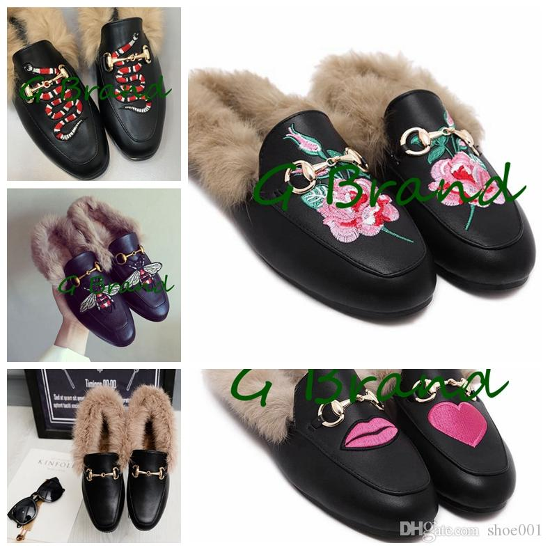 NEW Brand Casual Slippers Luxury Shoes Fashion Design Sandals Genuine Leather Loafers Ladies Casual Slippers DHL Free Ship clearance online fake get authentic cheap online cheap visa payment cheap outlet clearance many kinds of VUaMFR