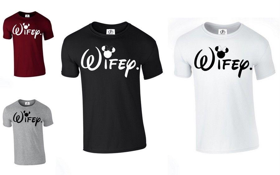 wifey girlfriend hubby mrs queen couples matching top christmas wifey tshirt funny unisex casual tee gift coolest t shirts online buy shirt designs from