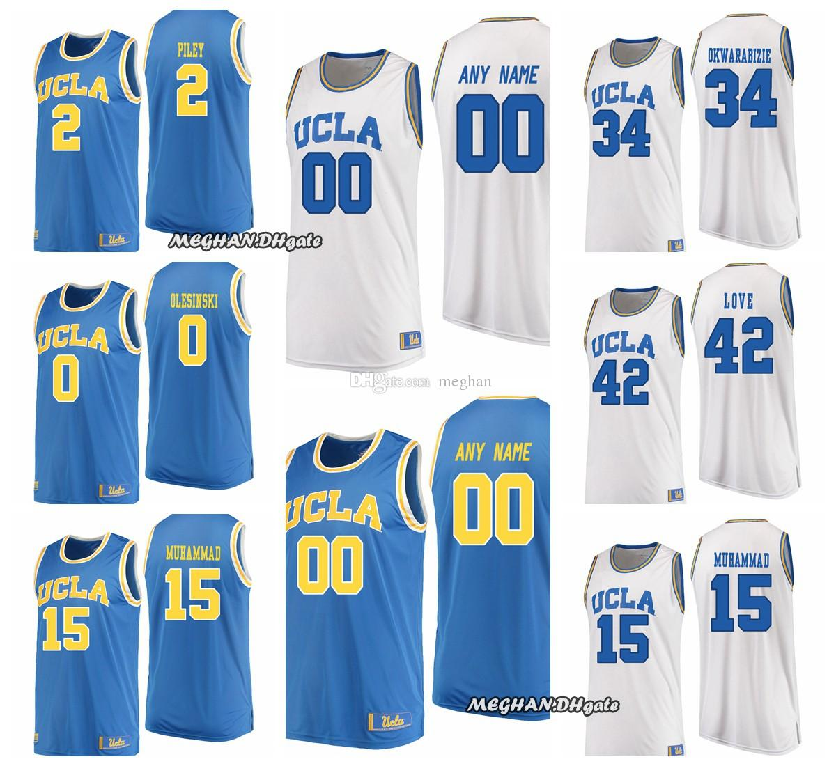 SMITH RILEY Custom Men Women Youth OLESINSKI Jersey UCLA UA College ... 58795237f