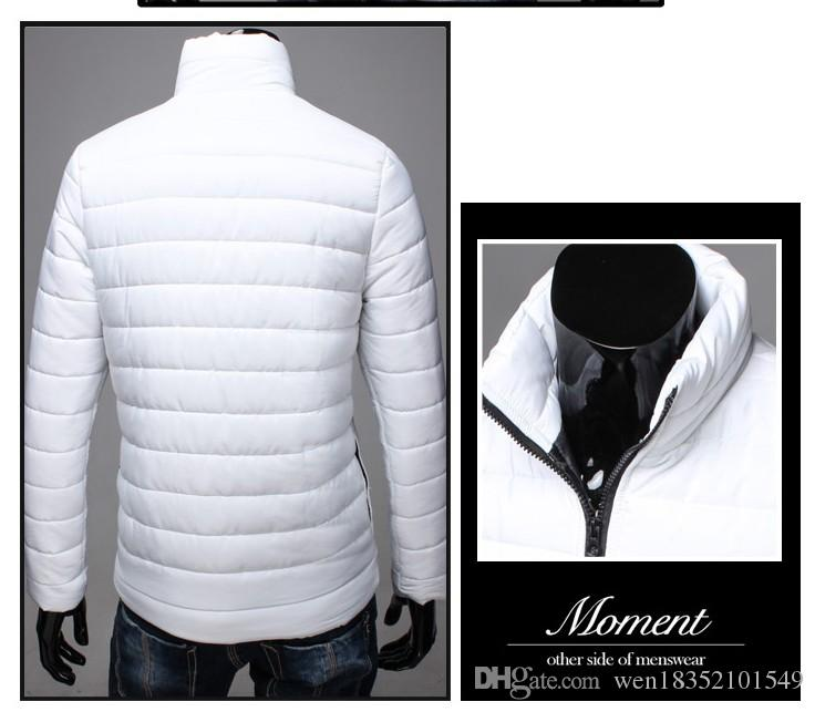 L'esplosione del commercio estero Commercio all'ingrosso 2015 New Winter Men's Moda Moda Collar Down Giacca imbottita