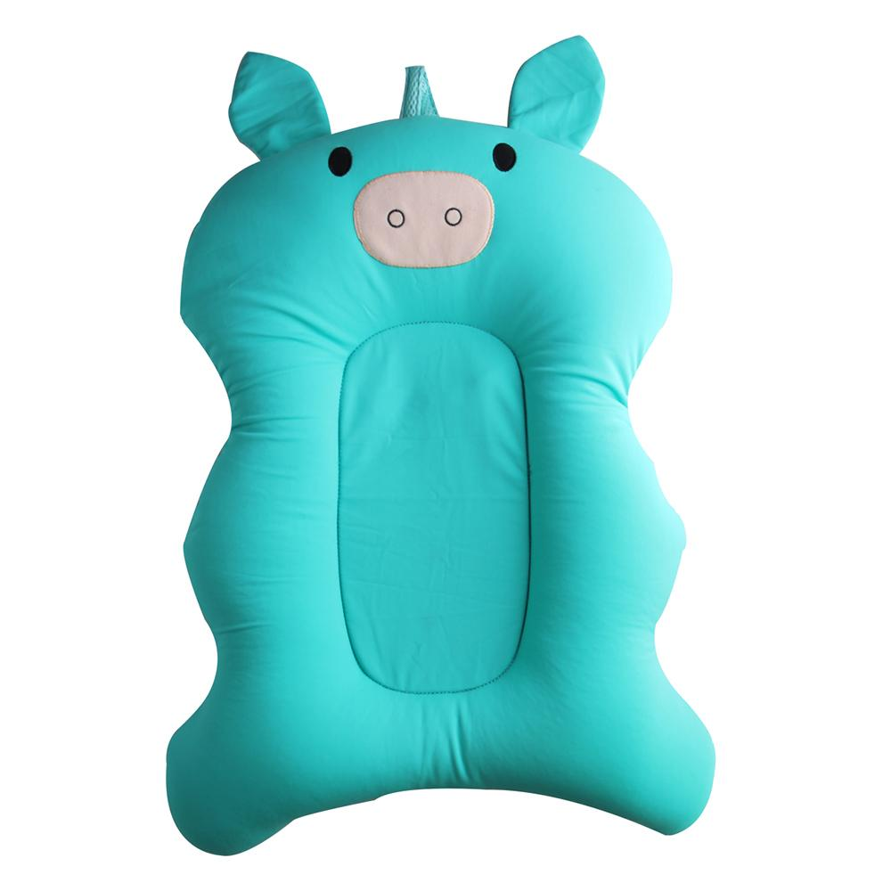 Cartoon Pig Infant Bath Seat Mesh Net Support Non-slip Baby Bath Mat ...