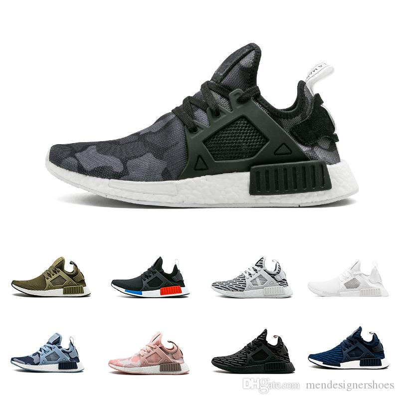1bd976496 2018 NMD XR1 Shoes Mastermind Japan Skull Fall Olive Green Camo ...
