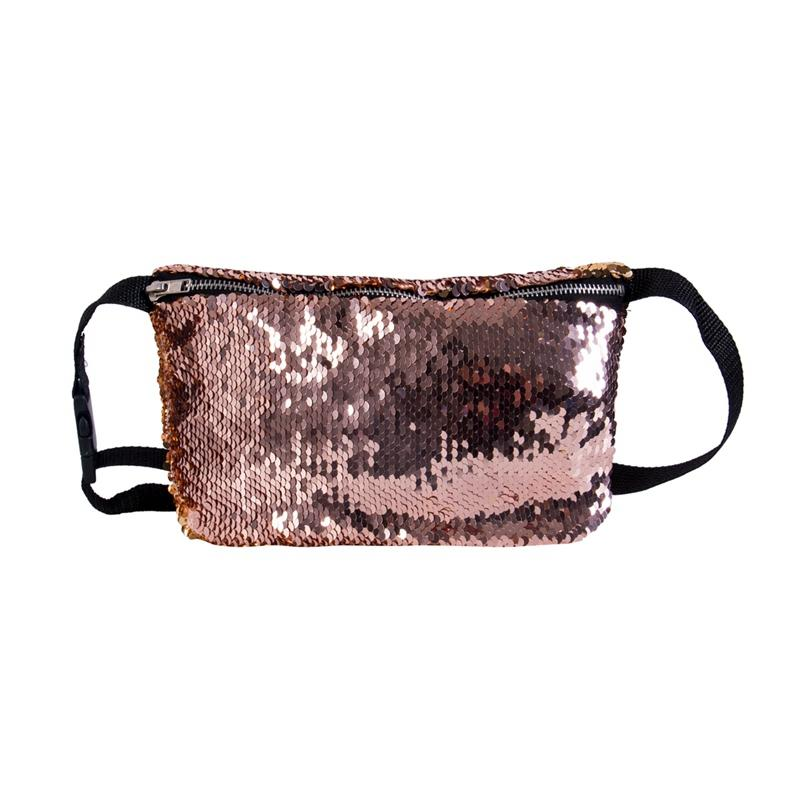 2019 Fashion Reversible Sequin Glitter Waist Fanny Pack Belt Bum Bag Pouch  Hip Purse Waist Packs From Feizi888 799881ae3dad