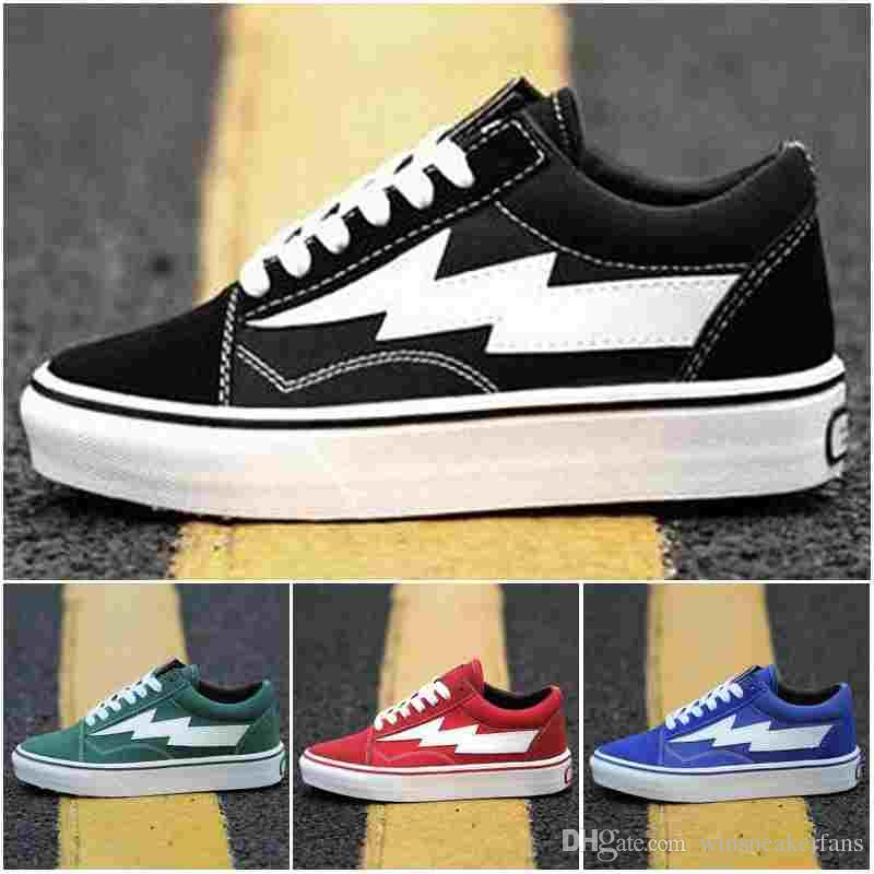 2018 Revenge x Storm Old Skool Classic Canvas Skate Board Shoes Low Cut Skateboard Top Quatily Casual Shoe Sports Sneakers sale countdown package clearance lowest price SzvghIiKL1