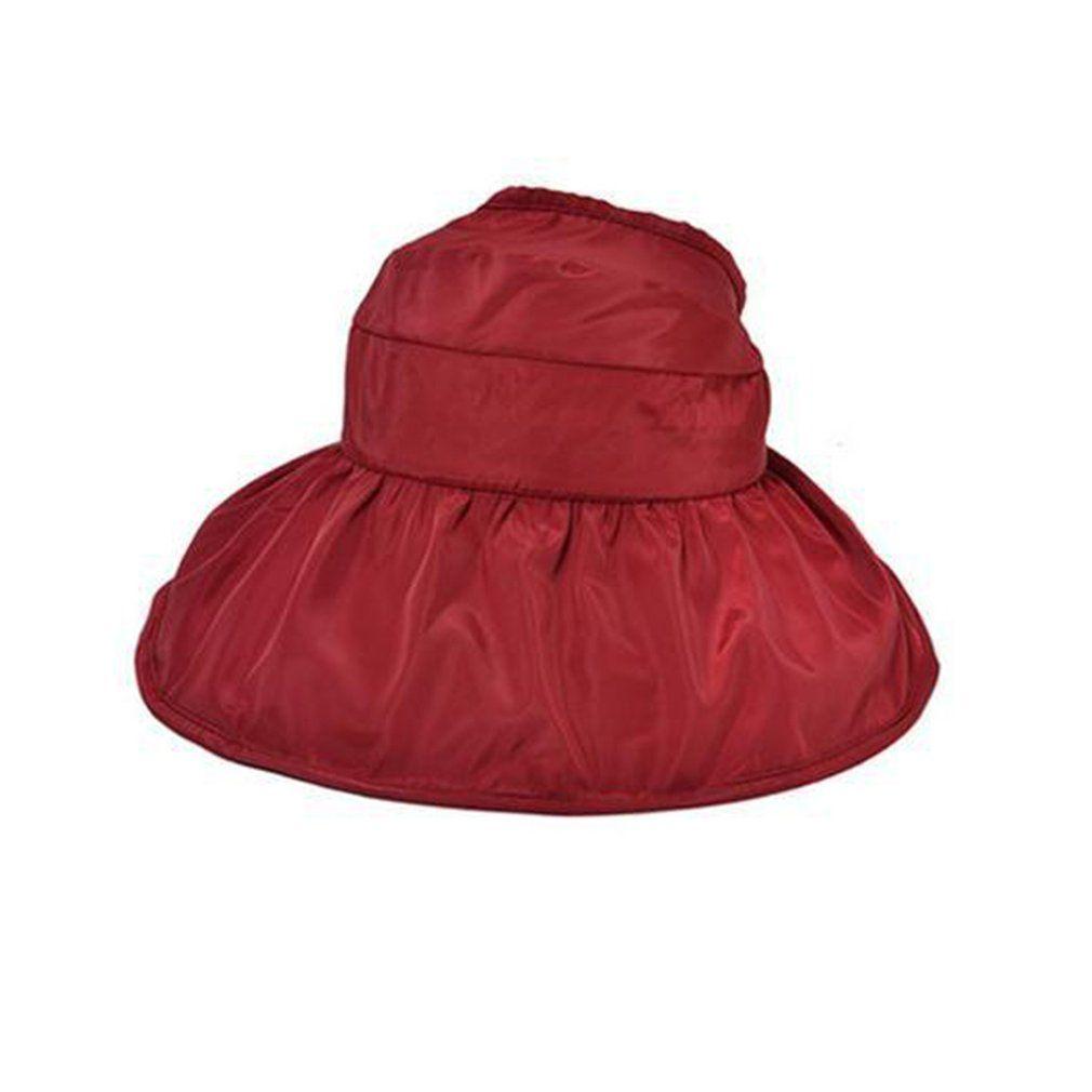 c9fd27c3b69 Korean Fashion Women Summer Sunscreen Hat Classic Design Anti-UV Foldable  Ladies Solid Color Beach Hat for Female Bucket Hats Cheap Bucket Hats  Korean ...