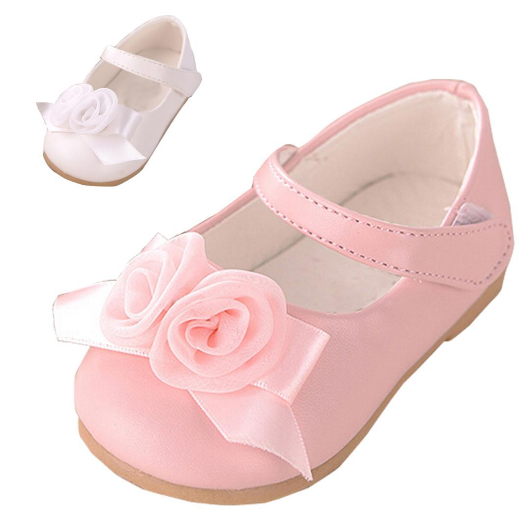 Baby Kids Shoes Cute Pink Flowers Girls Shoes Spring Children