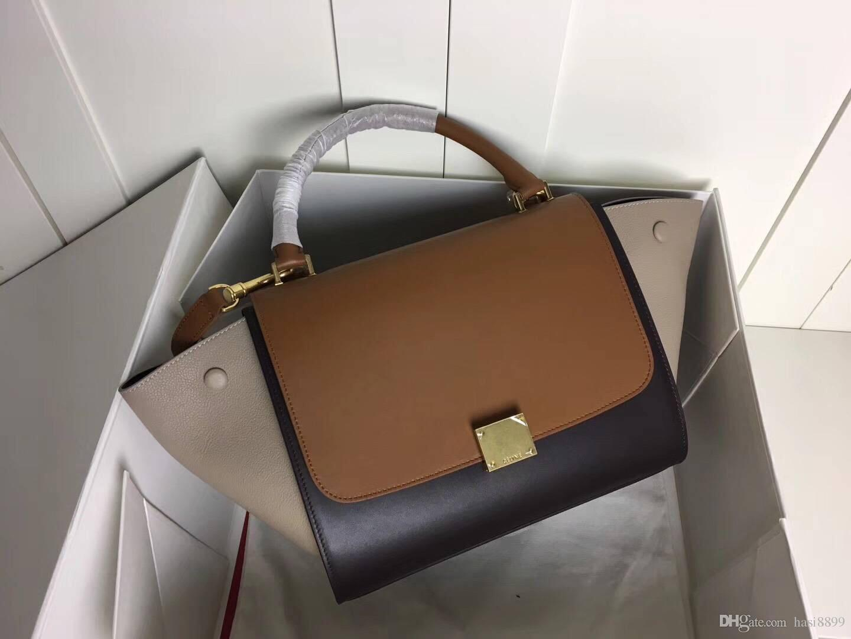 1cf349083054 2018 Hot Sale Best A+Quality Women REAL Leather Handbags Women Messenger Bag  Ladies Shoulder Bags Classic Crossbody Bag Female Handbags Designer  Handbags ...