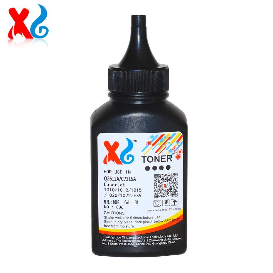 100g Compatible Toner Powder For Laserjet Q2612a 12a Lj 1010 Cartridge 1020 1018 Hp1010 Hp1020 Hp1018 Laser Printers Cheap