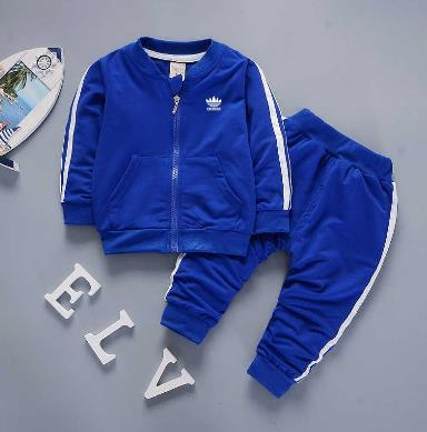 e38a950c45471 2019 2018AD Brand Baby Boys And Girls Tracksuits Kids Tracksuits Kids T  Shirts   Pants  Sets Kids Clothing Hot Sell New Fashion 2018 Summer.