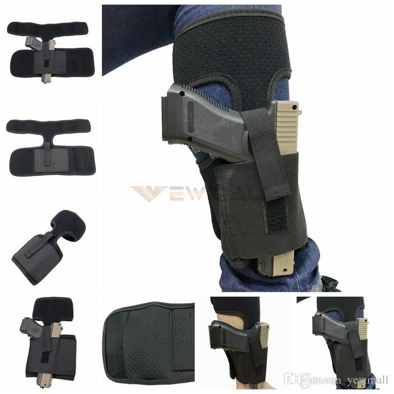 Tactical Gun Holsters Neoprene Concealed Ankle Holster for Compact Pistols  Handgun Concealed Carry Holsters Pistol Holder