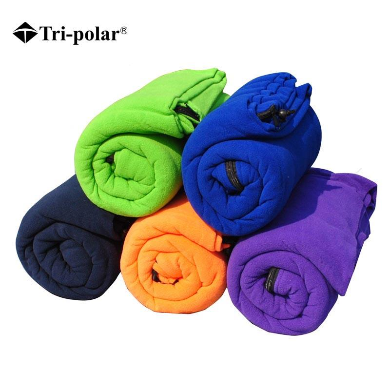 3aaaf217947 Tri Polar Ultralight Fleece Sleeping Bag Portable Outdoor Camping Travel  Warm Sleeping Bag Liner Sleeping Bags That Zip Together Kids Camping Gear  From ...
