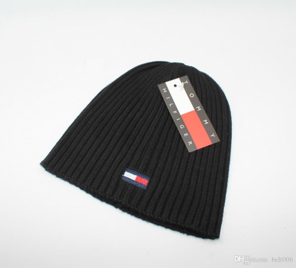 fd3fb0d94af 2018 Winter Hats For Women Men Warm Casual Cotton Hat Crochet Slouchy Knit  Baggy Oversized Ski Beanie Hat Female Skullies Beanies Cowboy Hats Stetson  Hats ...