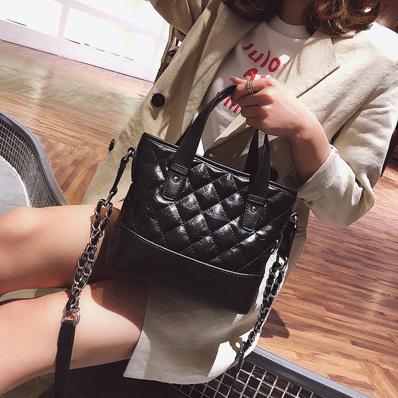 Janespri 2018 Kadın Çantaları Akşam Çanta Omuz Çantaları Kızlar Hobos Çanta Moda Elmas Kafes Debriyaj Messenger Crossbody Çanta