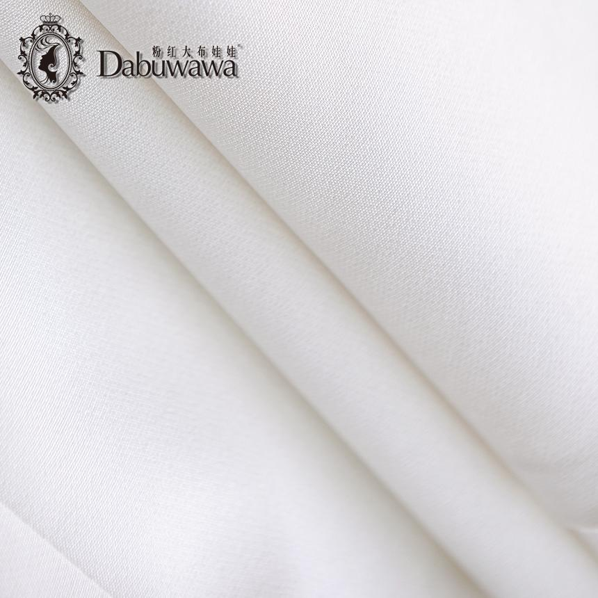 Dabuwawa Blanc Printemps Automne Mode Un seul bouton Blazer Femenino Ladies Blazer Costume Blanc