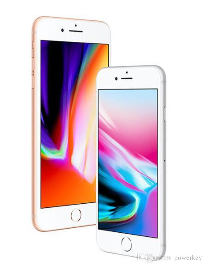 Nuevo 100% original restaurado Apple iPhone 8 4.7 pulgadas 64GB / 256GB ROM 2GB RAM hexa Core 12MP LTE Teléfono móvil