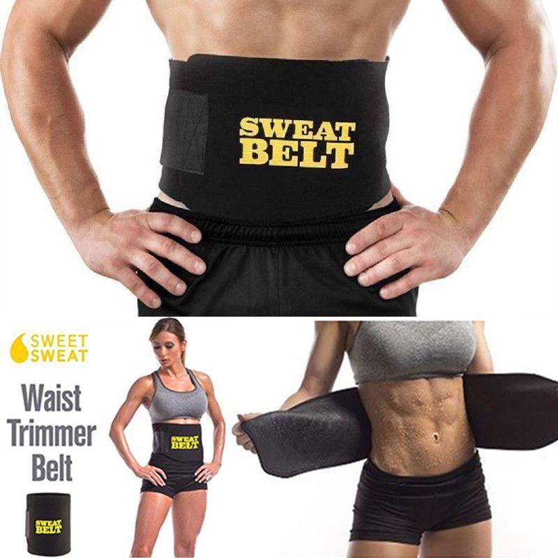 91a254ffe2 2018 Brand New Sweat Waist Trimmer Belt Wrap Stomach Slimming Fat Burn Body  Shaper Shaper Slim Shaper Body Shaper Belt Online with  25.92 Piece on  Tonic s ...