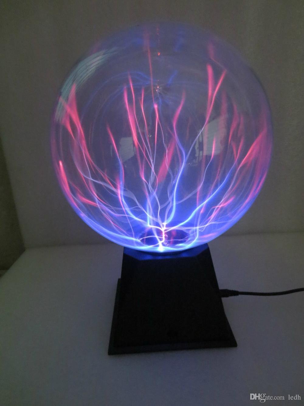 Acheter Nouveauté Verre Magique De Plasma Boule De Lumière De Verre ...