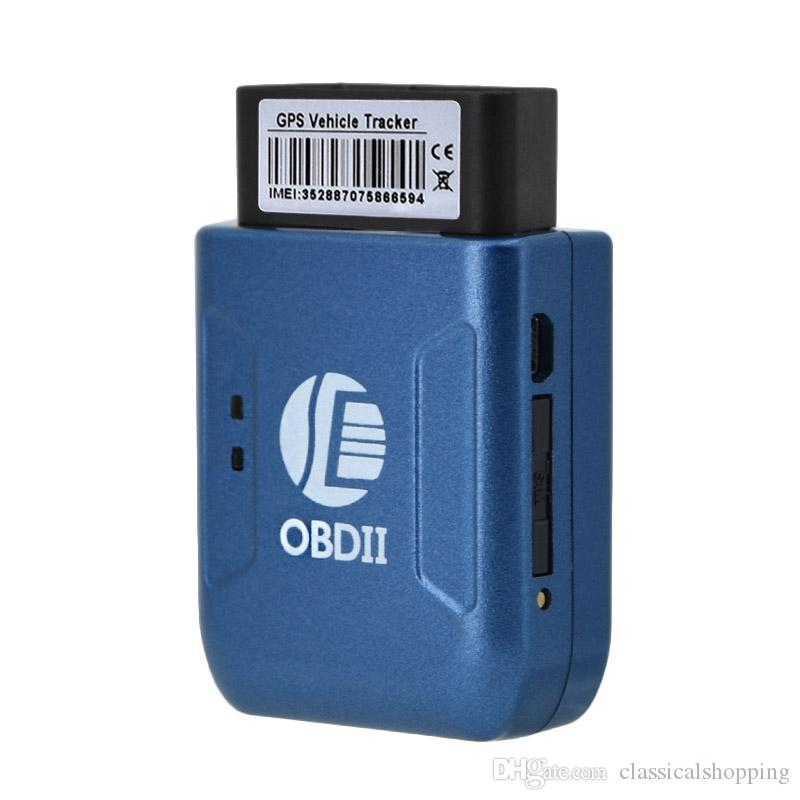 OBD II GPS TRACKER Realtime Car Truck Vehicle Tracking GSM GPRS Anti-theft Vibration Alarm Mini Device