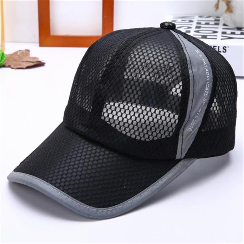 6c5d2acc7e7 Cheap Hot Sale Unisex Summer Breathable Baseball Cap Hat For Women Men Mesh  Cap Snapback Hat Golf Men Sport Brand Golf