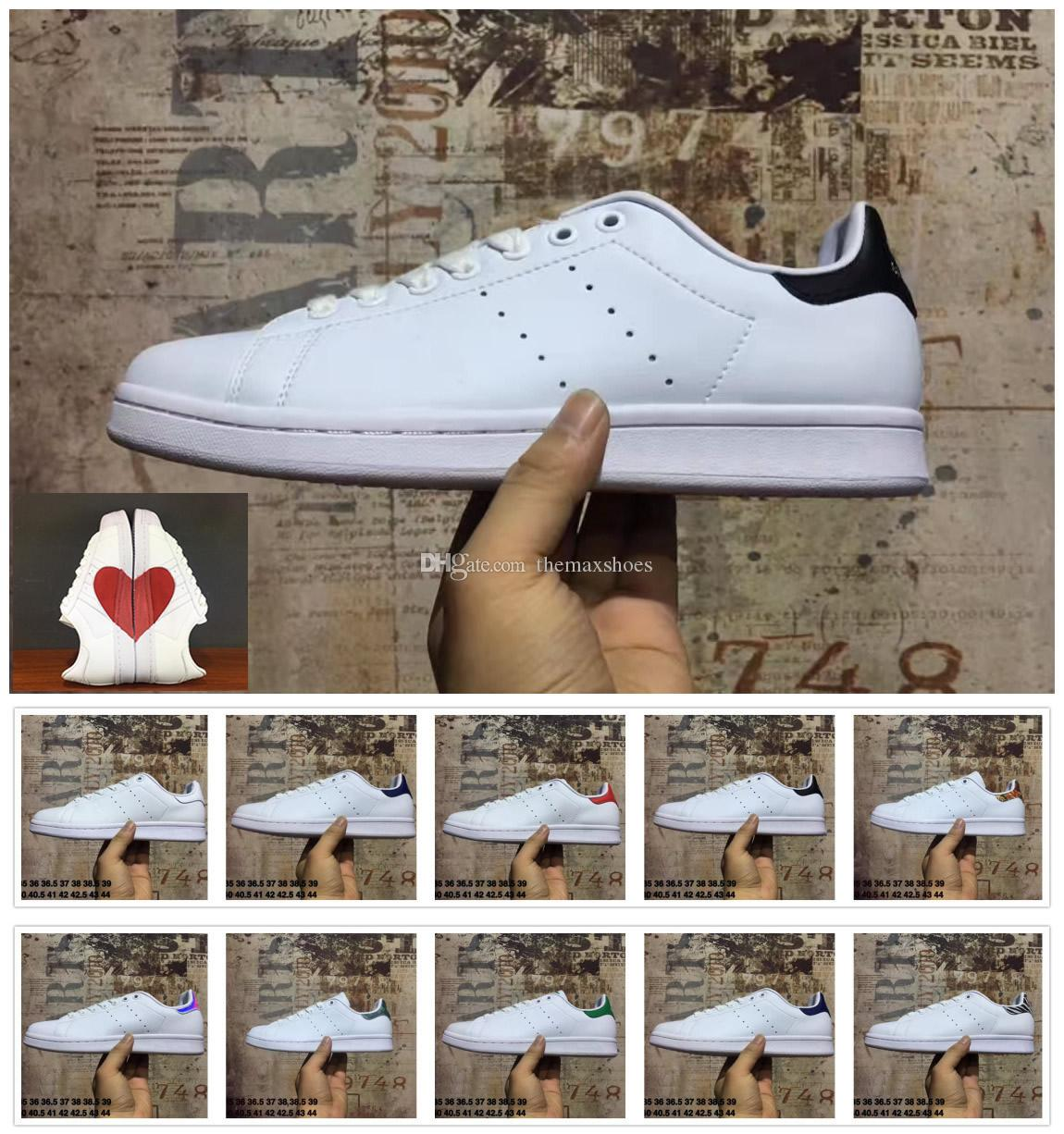 hot sale online d28fb ae6a7 Hot 2018 Lovers Stan Smith Men Women Shoes Classic Shoes High Quality  Casual More Color Casual Leather Sneakers Size US5-11
