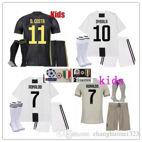 9dff9ecbcdb 2019 2018 2019 Juventus Soccer Jersey RONALDO DYBALA KIDS Soccer Shirt 18  19 Customized MARCHISIO MANDZUKIC HIGUAIN Football Shirts From  Zhanghuimei323, ...