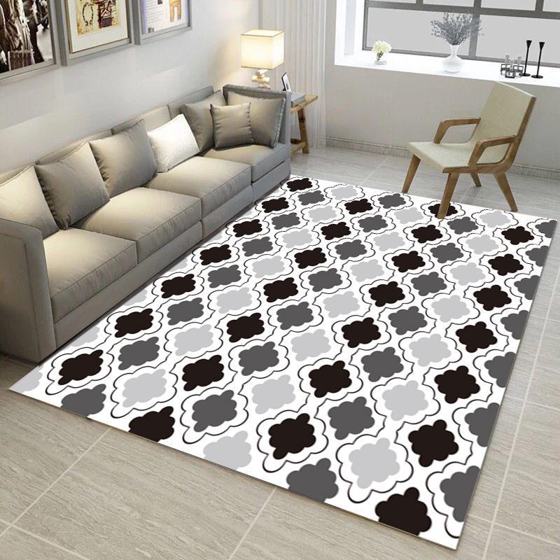 Grosshandel Moderne Schlafzimmer Wohnzimmer Teppich Nordic Geometry