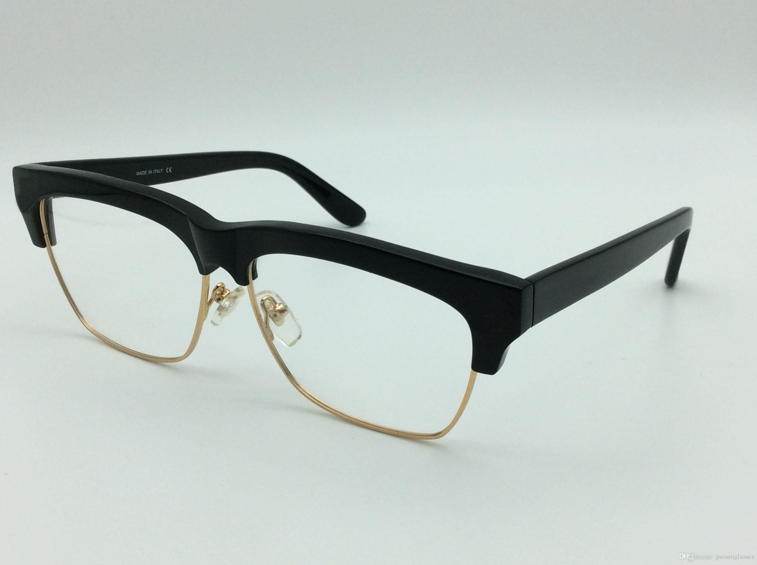 6eeb15aa790a 2019 Medusa Glasses Prescription Eyewear Frame Vintage Frame Men Brand Designer  Eyeglasses Semi Rimless Frame Face Logo Original Case From Brandjewellery,  ...