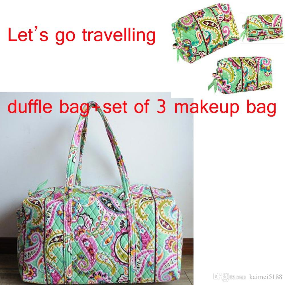 Large Duffel Travel Bag + Sset of 3 Makeup Bags Travel Bag Online with   57.49 Piece on Kaimei5188 s Store   DHgate.com 63c86b6aed