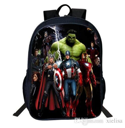 0bea81bf87 M Size 40 30 16cmOxford Printing Cartoon Avengers Print Hulk Boys Backpacks  For Children School Bag Kids Schoolbag Tenns Bookbag Cheap Backpacks For  Girls ...