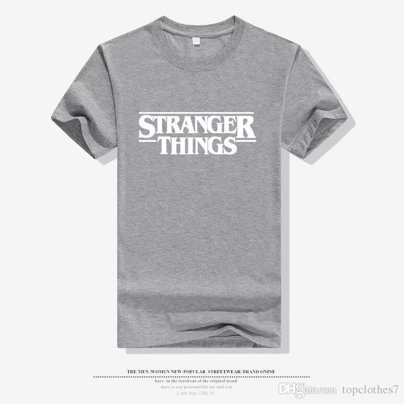 e3073283fbf 2019 Summer L Fashion Stranger Things T Shirt Men O Neck Funny T Shirt  Harajuku Men T Shirts Mens Mens Short Sleeve T Shirt M 3XL From  Topclothes7