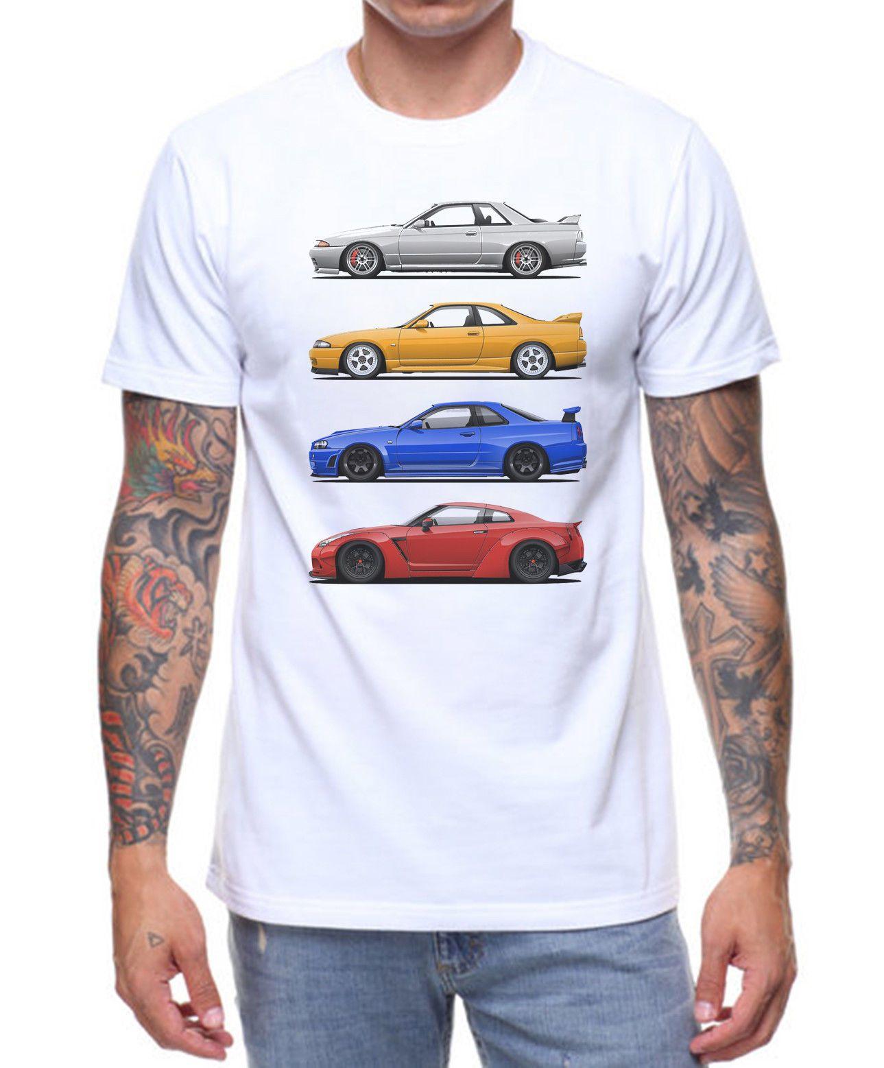 Nissan Skyline T Shirt Retro Vintage Car Artwork Birthday Present