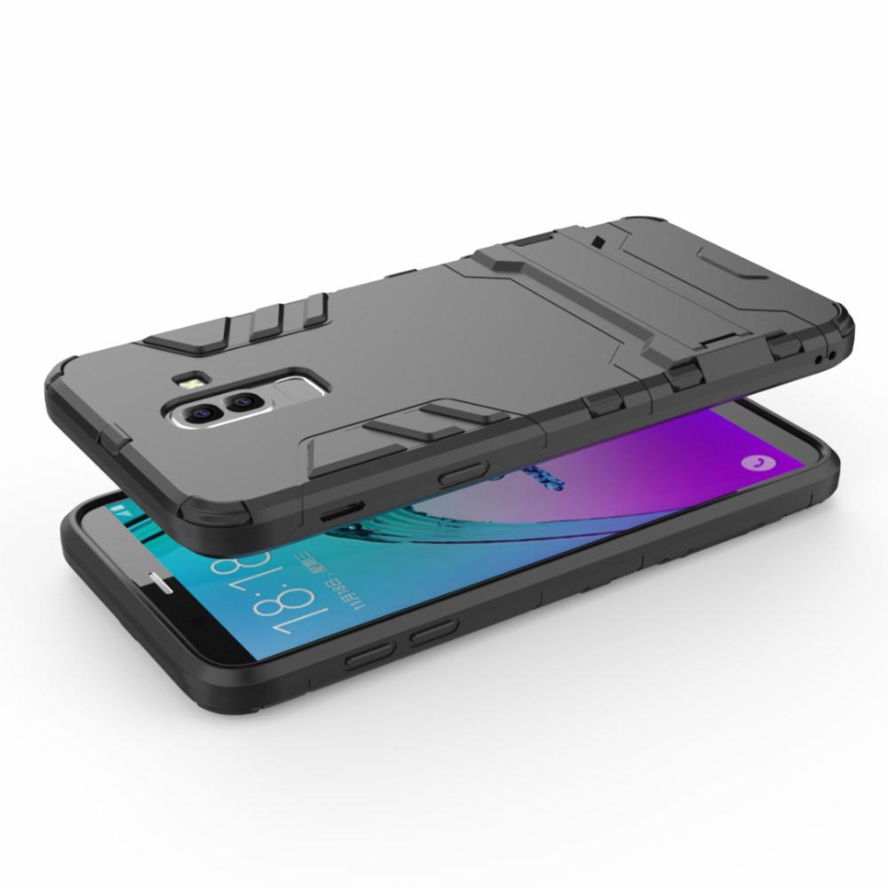 new products 1a7b5 37ac4 For Samsung J8 2018 Case Silicone Armor Hybrid Hard PC TPU Cover for  Samsung Galaxy J8 2018 buiness style back cover bags