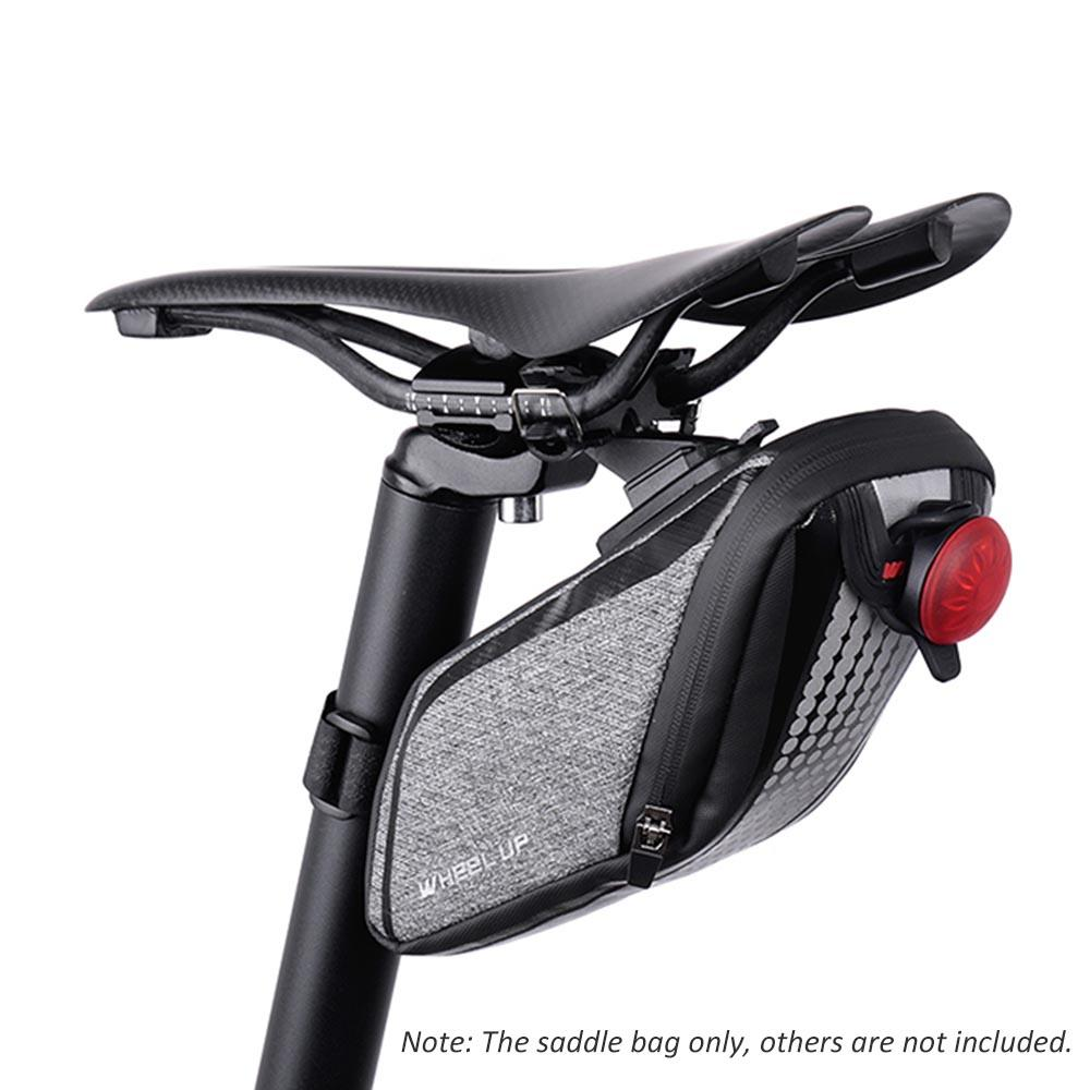 befeff6a6ee Bike Bicycle Cycling Saddle Bag Rear Pannier Portable Cycling Seat Post Bag  Road Bike Saddle Bicycle Tail Pouch Package Mountain Bike Bags Bicycle  Pannier ...