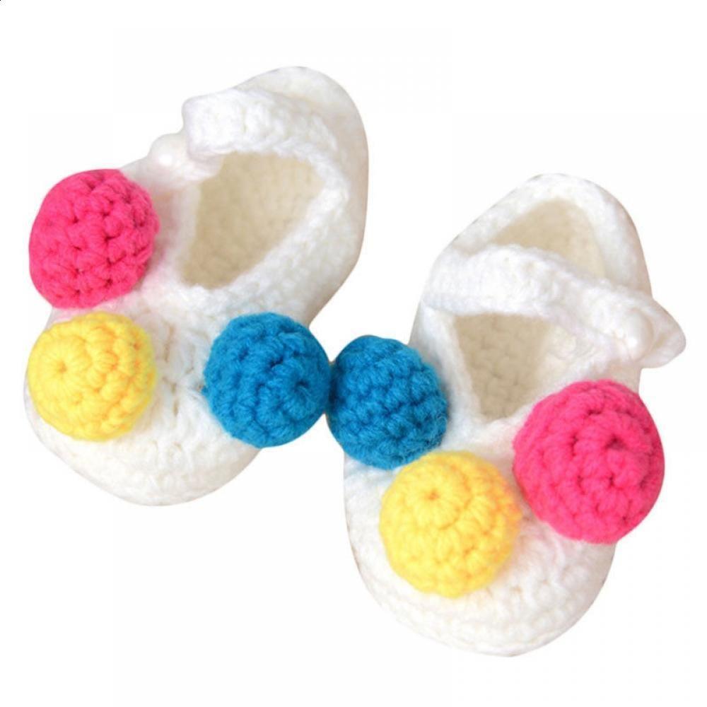 187b19775 2019 Cute Walker Footwear Infant Knit Baby Woolen Casual Baby ...